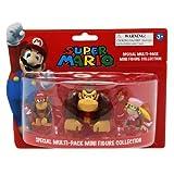 Nintendo Super Mario - Lote de 3 minifiguras - Figura Pack 3 Mini Figuras Donkey Kong