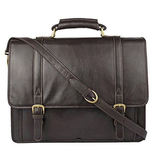 Hidesign-Andre-Bag-Briefcase-Top-grain-Leather-Messenger-Laptop-Shoulder-Men-Vintage-Business-Satchel-Mens-Work-Case-Executive-Handbag-S-Genuine-New-Black-Bags-Real-Cross-body-Casual-Travel