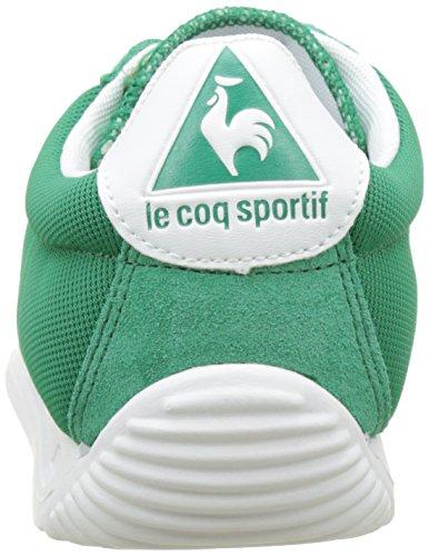 Le Coq Sportif Quartz, Basses Mixte Adulte Vert (Ver Clair/Old Gold)