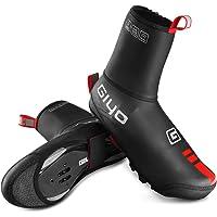 Lixada Copriscarpe da Ciclismo Invernali Antivento Antipioggia per Uomo Donne Copriscarpe Bici da Corsa Elastico Anti…