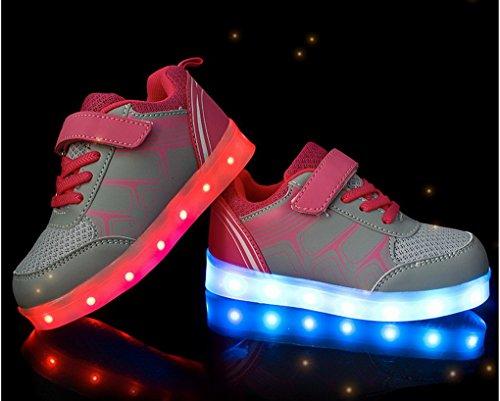 ... ACME LED Schuhe Sportschuhe Sneaker Turnschuhe mit USB Aufladen 7 Farben  für kinder Jungen Mädchen Heiß ...