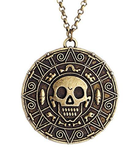 Preisvergleich Produktbild Fluch Der Karibik Halskette Bronze Farbe Geschenkidee