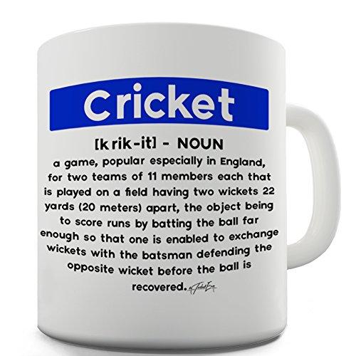 Twisted Envy Cricket Definition Keramik Tee Tasse