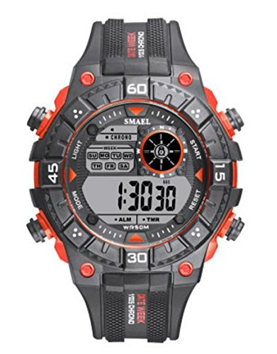 PIO RelojGES Deportivos Reloj Impermeable Movimiento