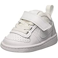 Nike Court Borough Low (TDV), Sneaker Bambino, Bianco (White/White 100), 23.5 EU