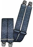 Hosenträger mit 4 Clips in 2 Jeans Farben