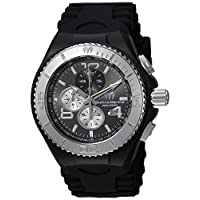 Technomarine Men's TM-115148 Cruise Quartz Chronograph Dark Grey Dial Watch