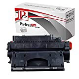 PerfectPrint Kompatibel Toner Patrone Ersetzen für HP and Canon Laserjet P-2055DN 2050 2053N 2057 2055X 2056N 2057N 2054D 2053D 2057D 2056D 2054N CE505X 05X and 719H (Schwarz)