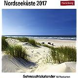 Nordseeküste - Kalender 2017: Sehnsuchtskalender, 53 Postkarten