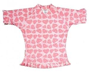Sun Emporium T-shirt de baignade anti-UV pour fille Rose rose 4 ans
