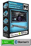 Fiat Croma DAB Radio, JVC Autoradio stéréo lecteur CD USB AUX, mains libres Bluetooth