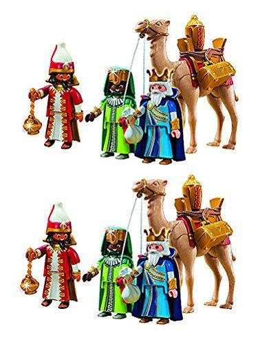 Outletdelocio. Playmobil Navidad 5589. Pack 2 Conjuntos