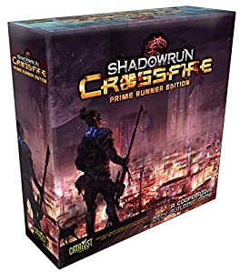 Catalyst Game Labs cat2770 X No Shadow Run: Cross Fire Prime Deck Building Game, Juego