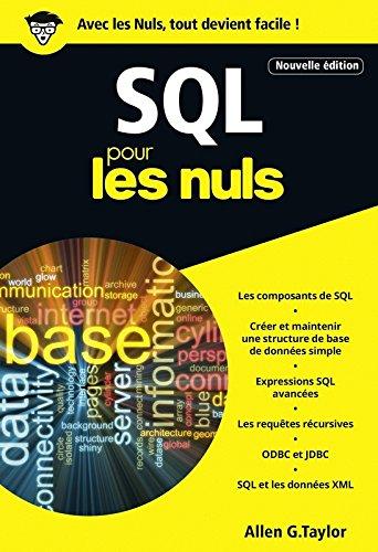 SQL pour les Nuls poche, 3e édition par Allen G. TAYLOR