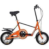 XQ- F515 12 Zoll Singlespeed Adult Faltrad Dämpfung Student Kinderrad Orange