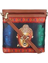 All Things Sundar Womens Sling Bag / Cross Body Bag - S03 - 50