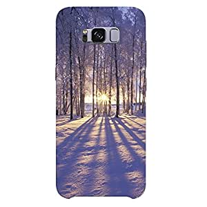 Samsung Galaxy S8 Plus Plastic Printed Mobile Back Cover