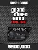 Grand Theft Auto Online | GTA V Blue Shark Cash Card | 500,000 GTA-Dollars | PC Download Code -