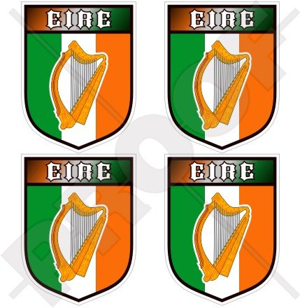 irlanda-irlandes-eire-gaelic-harp-escudo-50mm-2-pegatinas-de-vinilo-adhesivos-stickers-calcomanias-d