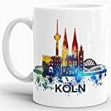 Köln-Tasse Skyline - Kaffeetasse/Mug/Cup - Qualität Made in Germany