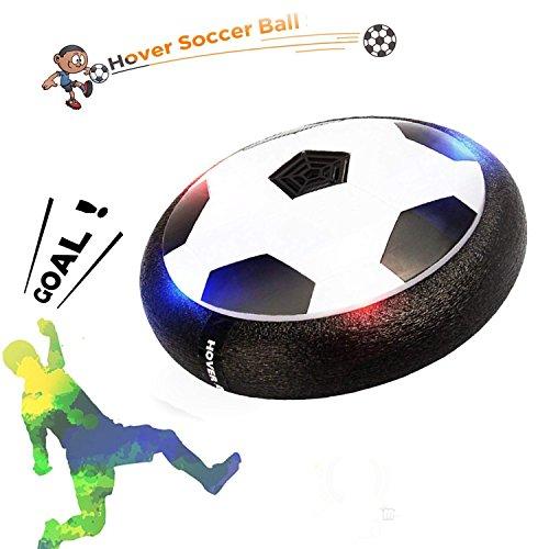 Hover Ball Air Power Fußball Indoor Fußball mit LED Beleuchtung Fußball Spielzeug Boys Mädchen Sport Kinder Licht Toys Training Fußball Beste Weihnachtsgeschenk für Kinder