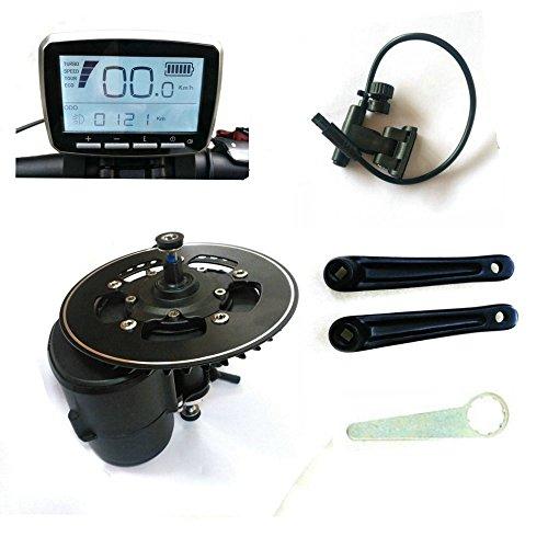 Kit di conversione motore mid drive TSDZ2, sensore di coppia 36 V, 350 W, 42 denti, per bicicletta elettrica con catena