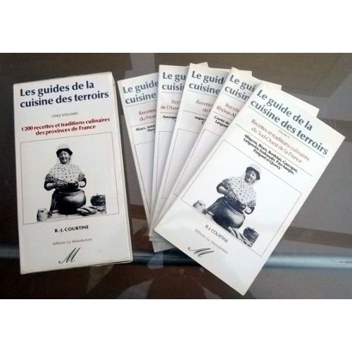 Coffret de la cuisine des terroirs, 6 volumes