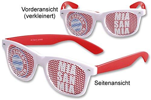 Preisvergleich Produktbild FC Bayern München Sonnenbrille Brille Mia san Mia