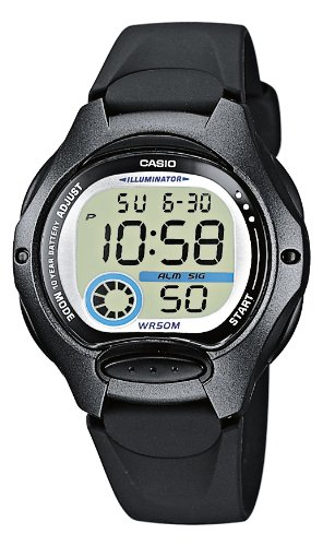 Casio Collection – Reloj Mujer Digital con Correa de Resina – LW-200-1BVEF