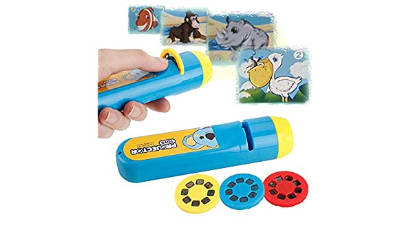 Banane Children Projector Torch, 24 Images Kids Projection