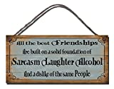 Gigglewick Gifts Funny Novelty Sign Shabby Chic Wooden - Best Reviews Guide