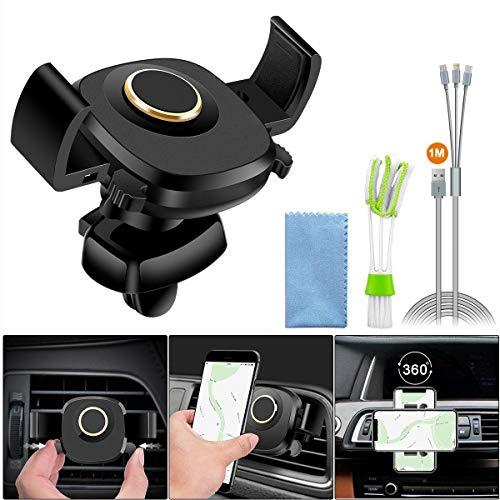 Soporte de coche para coche, soporte de teléfono inteligente para ventilación de...