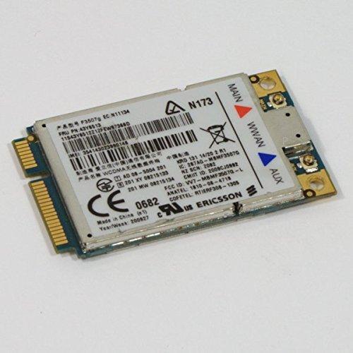 Lenovo WWAN Modul 43Y6513 Ericsson F3507g HSDPA UMTS gebraucht kaufen  Wird an jeden Ort in Deutschland