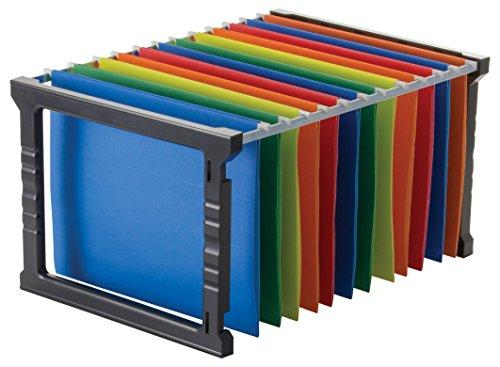 Officemate Kunststoff zum Aufhängen Datei Ordner Rahmen, 45,7cm, Letter und Legal Größe. 1Set (91961)