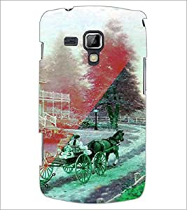 Printdhaba Chariot D-4926 Back Case Cover For Samsung Galaxy S Duos 2 S7582