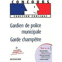 Gardien de police municipale, Garde champêtre