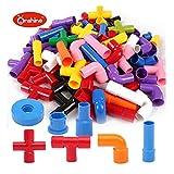 Onshine Plastica Assemblaggio Costruzione Blocchi Puzzle 3D Giocattoli 72 Pezzi Intelligenza Educativi per Bambini