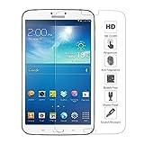 Ganvol Vidrio Templado Film Protector de Pantalla Membrana para Samsung Galaxy Tab 3 8.0 Inch SM-T310 T311 T315 [Alta Transparencia Ultra HD] [Dureza de 9H] [Resistente a los Arañazos] [Colocación 100% Sin Burbujas] [Superficie Anti Huellas] [Anti Amarilleo] [Larga Duración] [0.33 mm]