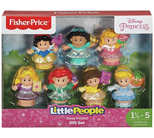 Fisher Price Little People Disney Prinzessinnen Figuren Set - 7 Prinzessinnen von Little People
