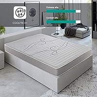 ROYAL SLEEP Colchón viscoelástico 90x190 de máxima Calidad, Confort y firmeza Alta, Altura 14cm