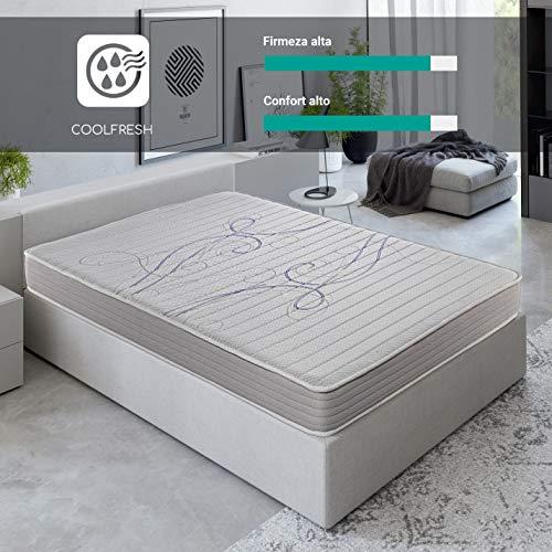 ROYAL SLEEP Colchón viscoelástico 90x190 de máxima Calidad, Confort y firmeza Alta, Altura 14cm. Colchones Xfresh