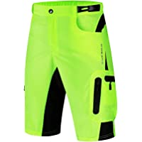 WOSAWE Men's Baggy Cycling Shorts Quick Dry Mountain Bike Half Pants Leisure Running Training Bottoms with Waterproof…