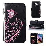 Samsung S6/Galaxy G9200 Hülle Case, COZY HUT LederHülle Leder Tasche Case Cover für Samsung S6/Galaxy G9200 5,1