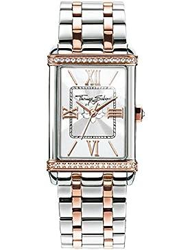 Thomas Sabo Damen-Armbanduhr Analog Quarz Edelstahl WA0232-272-201-32x25 mm