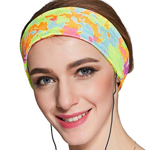Preisvergleich Produktbild [Upgrade Cool Lycra] Schlaf-Kopfhörer - Ultradünne Schlaf-Kopfhörer - Bequeme Weiche Lycra Cool Mesh zum Schlafen - Perfekt für Flugreisen,  Sport,  Entspannung,  Meditation und Linderung von Schlaflosigkeit - Lycra Multicolor