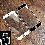 Huhuswwbin Pellicola Protettiva, Proteggi Schermo in Vetro temperato da 0,2 mm Premium in Vetro temperato per iPhone 6 6S Plus - Nero 6 / 6s