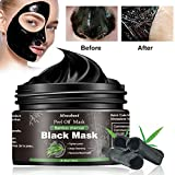 Blackhead Mask, Peel Off Mask, Blackhead Remover Mask, Face Mask with Activated Carbon, Purifying Black Face Mask, Deep Skin Clean Purifying Acne - 120ML