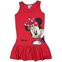 Disney Minnie Chicas Vestido - Rojo
