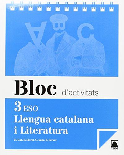 Bloc d'activitats. Llengua catalana i Literatura 3r ESO - 9788430789931 por Núria Cot Escoda