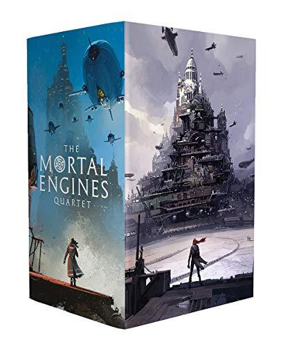 Mortal Engines (Ian McQue boxset x4) (Mortal Engines Quartet)